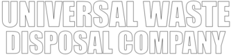 Universal Waste Disposal Company Logo